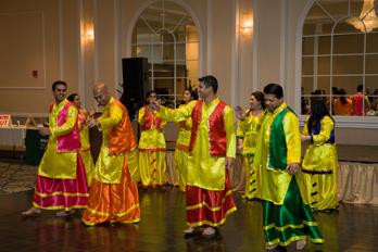 A Bhangra Dance
